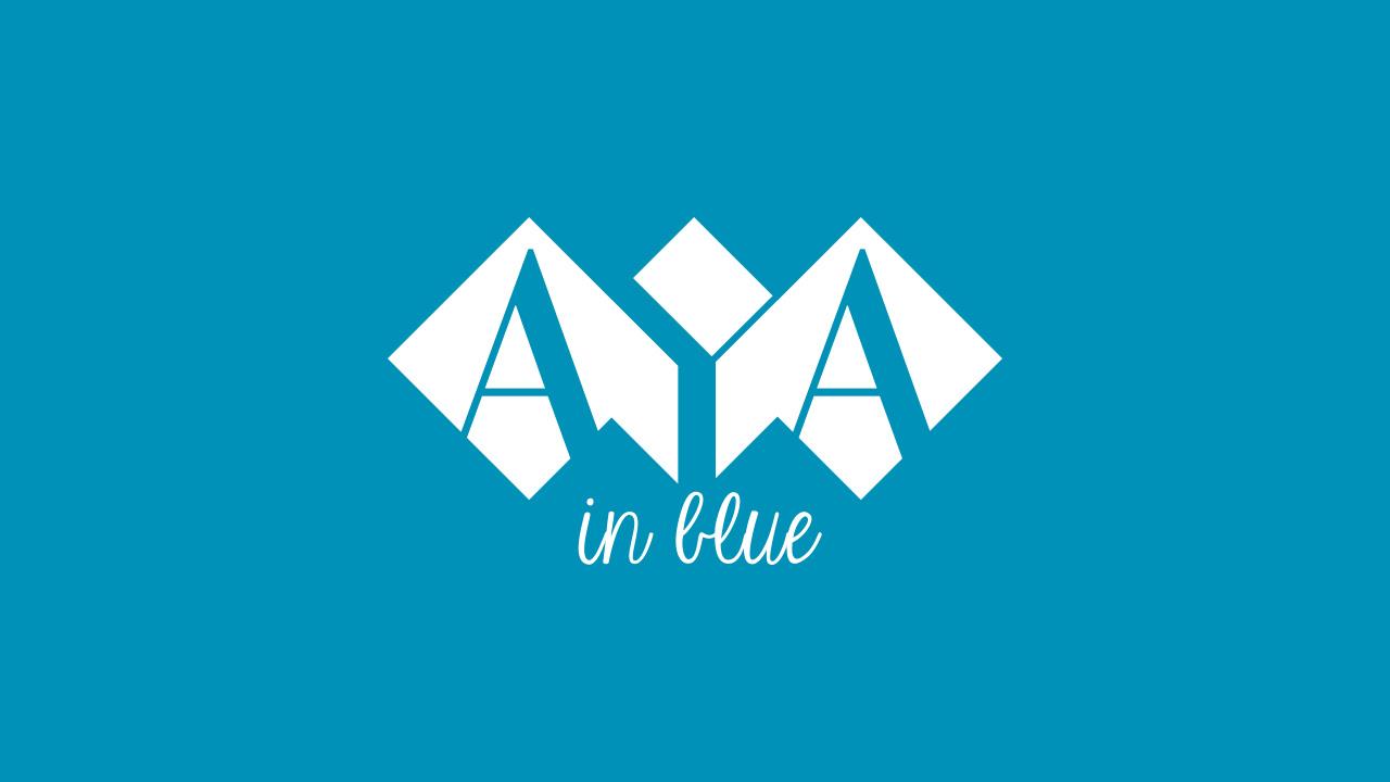 AYA in blue