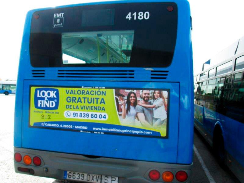 Campaña de Autobuses Look&Find